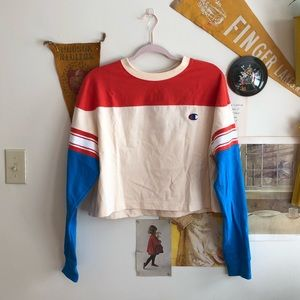 Champion x Urban Outfitters Colorblock Long Sleeve